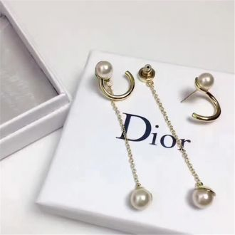 Christian Dior Pearl Drop Earrings Low Price Australia 2018 Latest Design Emma Watson Style