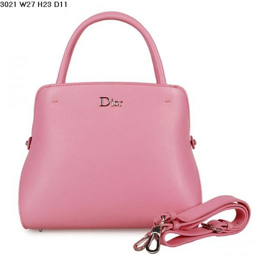 Most Popular Cherry Pink Dior Silver Hardware Top Handle A-shape Tote Bag For Girls Micro