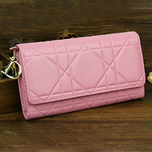 Lady Dior Golden Link Chain Strap Pink Patent Leather Cannage Fake Dior Wallet Latest Collection