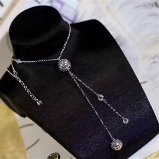Christian Dior Pearl Pendant Necklace Knock Off Long Chain For Women UK Sale Online